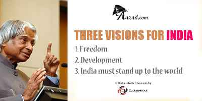 Three Visions for India -DR A P J Abdul Kalam